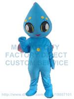 aliens cartoon characters - blue alien mascot costume custom cartoon character cosply carnival costume