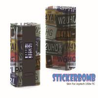 Ipv d3 Prix-Joyetech cuboïde 150w enveloppe de peau autocollants VS Subox Housse de Nebox IPV D2 Couverture de peau D3 eVic VT peau RX200 IPV3 Li enveloppe de peau Étiquette