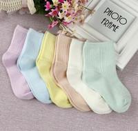 baby bamboo socks - 2016 Baby Kids Socks Solid Color Mesh Summer Socks Bamboo Fiber Girls Socks Children Socks