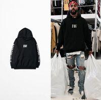 Wholesale justin bieber PURPOSE TOUR ss staff hoodies sweatshirts men hip hop skateboard hoodies kanye west fear of god hoodies