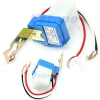 Wholesale J34 AC DC V A Auto On Off Photocell Street Light Photoswitch Sensor Switch