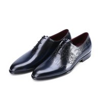 berluti men shoes - berluti_Alessandro One Piece Leather Shoe men leather shoes with engraved script factory order similar to berluti shoes