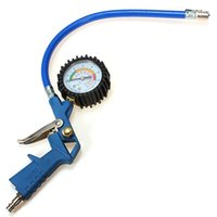 auto air hose - Auto Air Tyre Tire Inflator Inflate Hose quot Dial Gauge PSI Cars Trucks