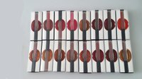 Wholesale 16colors stock Newest Hot Huda beauty Lip Gloss Lipstick Boxset Lipstick colors