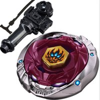 beyblade string launcher toy set - 4D hot sale beyblade Phantom Orion Metal fusion double Fury remote control Beyblade string launcher black l drago BB D Toys