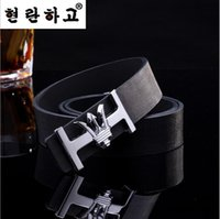 Wholesale New style fashion brand designer mens belt luxury style real belts for men women High quality PU leather belt cinto masculino
