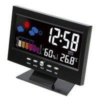 bedside digital alarm clock - Brand Hippih LED Alarm Clock Reloj Despertador Temperature Digital Reveil Electronic Desktop Display Bedside Clocks Table Clock