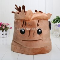 Wholesale 50pcs cm Guardians of the Galaxy Tree People Groot Plush Hats Soft Cosplay Cap For Adult