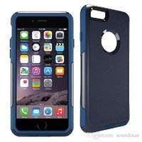 armor combine - 2in1 Combined Hybrid Rugged Defend Armor Shockproof PC SiliCone Box Commuter Case Cover For iPhone s inch With Retailpackage