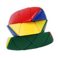 Wholesale Magic Tricks Toys Magic Cube pyramid Pyramorphix x3x3 Cubo Magico Magic Cube Stickerless Mastermorphix puzzle cubes twist toys