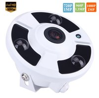 Wholesale 720P P P Optional MP mm Lens Fish Eye Powerful Array Panoramic IP Camera Onvif Motion Detector