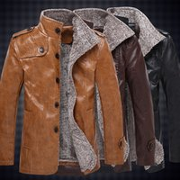 Wholesale Fall Hot High quality new winter fashion men s coat men s jackets men s leather jacket