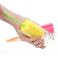 Wholesale Kitchen Cleaning Tool Cup Brush Kitchen Cleaning Tool Sponge Brush For Wineglass Bottle Coffe Tea Glass Cup Mug