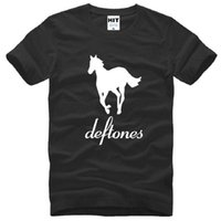 alternative rock fashion - New Designer Deftones T Shirts Men Cotton Short Sleeve O Neck Printed Alternative Metal Rap Man T Shirt Fashion Rock Hip Hop Tee Shirt