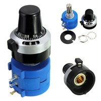 Wholesale K Ohm S L Potentiometer With Turns Counting Dial Rotary Knob Pc