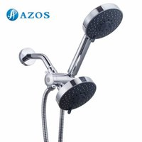Wholesale Bathroom Five Function Handheld Shower and Showerhead Combo System with Hose Chrome Bathroom Accessories HS001