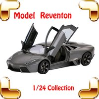 best diecast models - Nice Boys Gift Rastar Lambo Metal Model Roadstar Car Factory Design Alloy Mini Simulation Car Body Best Collection Toys Diecast Cars