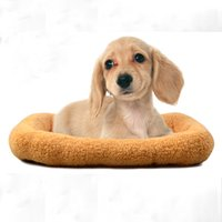Wholesale Pet Cushion With Cotton Dog Cat Bed Washable Mat Luxury Puppy Nest Pet Sleep Perch Soft Warm Cats Pad Supplies F