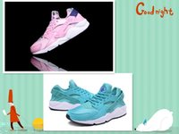 athletic high heels - 2016 New Style Air Huarache Running Shoes For Women Fashion High Quality Huaraches Trainer Athletic Sport Sneakers Eur