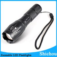 best battery for led flashlight - Best G700 E17 CREE XML T6 Lumens High Power LED Torches Zoomable LED Flashlights torch light for xAAA or x18650 battery