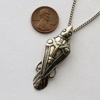 ancient greek gifts - 20pcs Odins Raven Necklace Ancient Silver Odin s Raven Viking Pendant Necklace Greek Mythology Jewelry