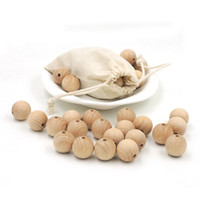 Wholesale DIY Natural mm round beads unfinished beech wooden beads good quality from Germany beech wood WC056