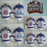 aroldis chapman - 2016 World Series Jon Lester David Ross Javier Baez Aroldis Chapman Jersey Hoodie Mens Chicago Cubs baseball jerseys hoodies
