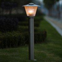 Wholesale waterproof Outdoor lawn lamp stainless steel garden light villa lamps landscape post fashion outdoor decoration light WCS OLL0016