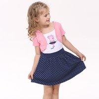 animal lantern - Girl Dress Summer Girls Party Dress Children Princess Dress for Kids Girl Cotton Dress Pink Dress H4371
