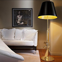 Wholesale Lounge Gun Floor Lamp By Philippe Starck bedroom fashion design AK47 Gun standing light Gold Chrome