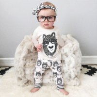 Wholesale 2015 Autumn style infant clothes baby clothing sets boy Cotton little monsters Full baby boy clothes baby set