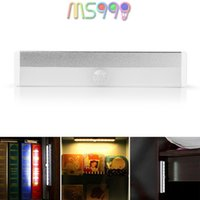 battery operated fridge - Rechargeable Magnetic Infrared IR Motion Sensor LED Wall Lights Night Light Auto On Off Battery Operated for Pathway Wall Fridge