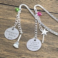best jewelry books - 24pcs best friend bookmark wicked musical jewelry changed for good because I knew you sister book mark set wizard of Oz