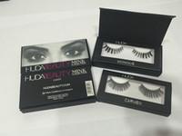 beauty collection hair - Huda Beauty mink collection False Eyelashes Real hair Handmade Fake Eye Lashes Professional Makeup Tip Bigeye Long False Eye Lashes Magnet P