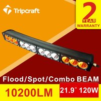 amber chip - 120W Amber and White CURVED LED Work Driving Light Bar with CREE CHIPS for Car Truck SUV x4 ATV JEEP POLICE OffRoad Lights