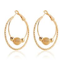 alphabet c - Newest Gothic Earrings Punk Rock C shaped multi circle shape earrings Gift for women styles