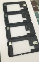 Wholesale New For Samsung Galaxy NOTE3 N900 N9005 N900V N900A Rear Housing Middle Plate With Camera Lens Bezel