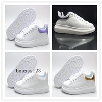 alexander shoe - Casual Shoes High Quality Oversized Sneakers New Released Alexander Leather Platform Sneakers Flat Heel Shoes For Women