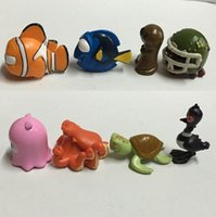 Wholesale NEW Finding Nemo Action Figures toys cartoon Nemo Dory dolls cm good quality styles