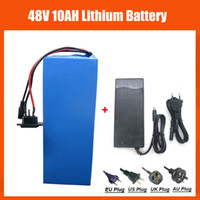 Wholesale Rechargeable W V Electric Bike battery V AH lithium Battery with PVC case V A charger A BMS