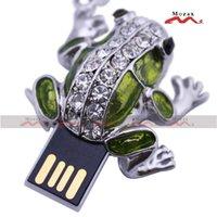 animal thumb drives - USB Flash Drive GB GB GB GB GB GB GB USB2 Thumb Stick Key Storage Pendrive U Disk Metal Frog