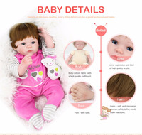 baby gift bouquets - 40cm Silicone Reborn Baby Doll kids Playmate Gift For Girls Inch Baby Alive Soft Toys For Bouquets Doll Bebe Reborn