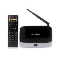 antenna retail - HOT retail Android TV Box Q7 CS918 Full HD P RK3188T Quad Core Media Player GB GB XBMC Wifi Antenna with Remote Control V763