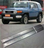 bars toyota fj cruiser - Good quality door side sill trim Nerf bar protection FOR Toyota FJ Cruiser
