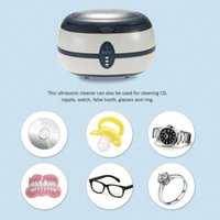 Wholesale AC220V V Household Ultrasonic Cleaner Glasses Watch Jewelry Cleaning Machine Household Cleanning Tool EU Plug