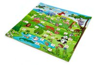 anti fatigue mats - Baby Play Mats Crawling Pads EVA Foam Puzzle Mats Cartoon Animals Letters Developing Rugs Waterproof Anti Fatigue Floor Mats