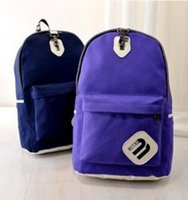 backpack fasteners - new backpack zipper fastener young men and women students The European and American fashion leisure bag