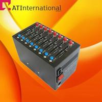 Wholesale Wavecom SIERRA SL6087 Ports Modem Pool With USB Interface Quadband Bulk sms modem Recharge system USSD STK IMEI changebale