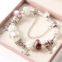 Wholesale New fashion Summer jewelry Vintage Bracelets for Mother Day s Gift Charms Pandora Bracelet Bangle fit Euorpean bracelet BR160407006