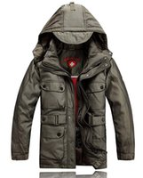 Wholesale wellensteyn down jacket Long section Thicken Men s coat brand down coat